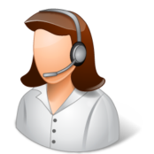 Occupations-Technical-Support-Representative-Female-Light-icon